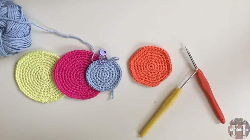 Círculo de ganchillo
