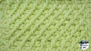 Punto tupido tunecino #5 – Crochet tunecino