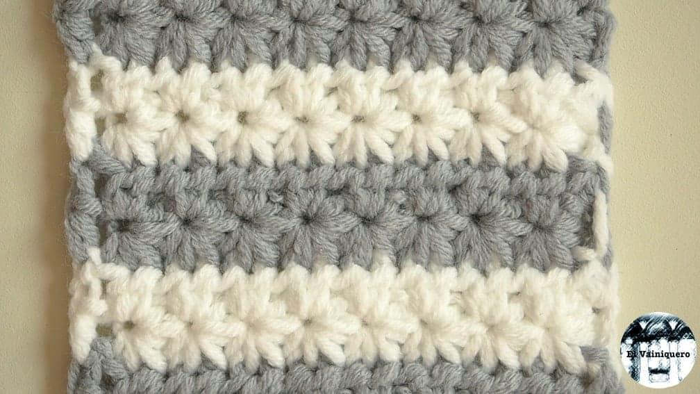 Punto fantasía crochet #1