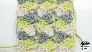 Punto fantasía crochet #4 – Ganchillo