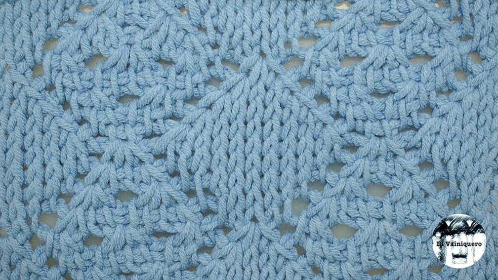 Punto calado tunecino #16 – Crochet tunecino