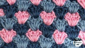 Punto fantasía crochet #17